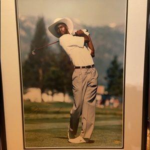 Autographed MJ golf pic!
